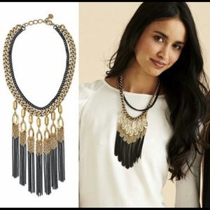 Stella and Dot Lilith Fringe Necklace